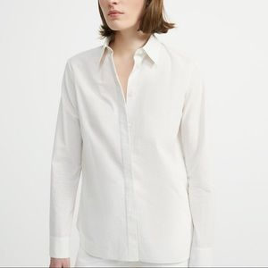 NWT Theory Classic Straight Shirt